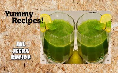 Jal Jeera Recipe - How to make Jal Jeera Drink