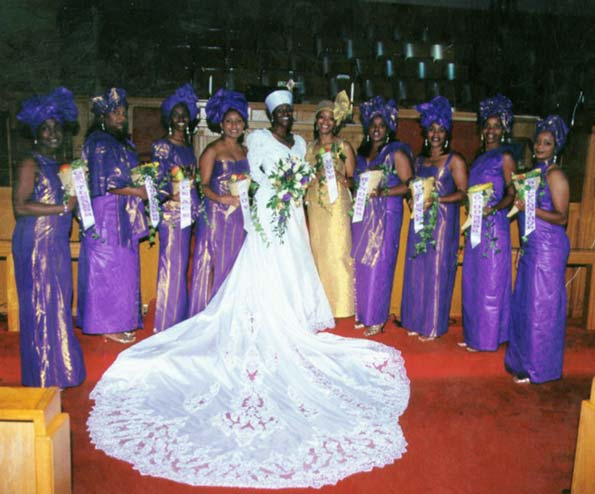 African Wedding Gowns: WEDDING COLLECTIONS: Pictures Of African Wedding Dress