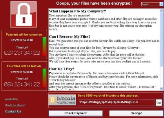Apakah komputer saya terkena Ransomware WannaCry?