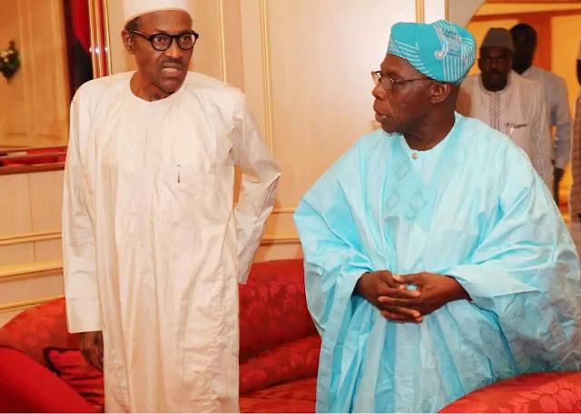 Buhari calls Obasanjo