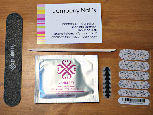 I'm Berry Excited About Jamberry Nails! REVIEW