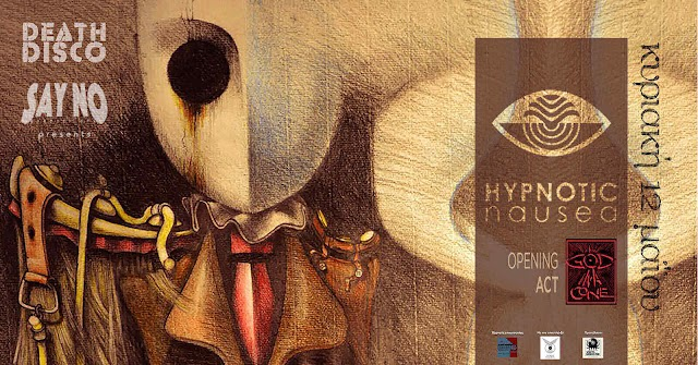[News] Hypnotic Nausea, God in a Cone [live 12.May.'19]