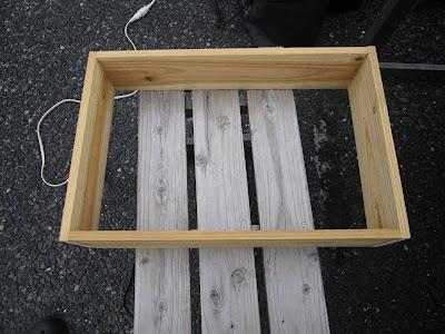 木枠 組み立て 完成