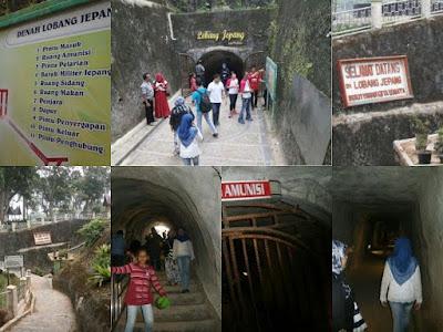 terowongan bersejarah lobang jepang buktitinggi