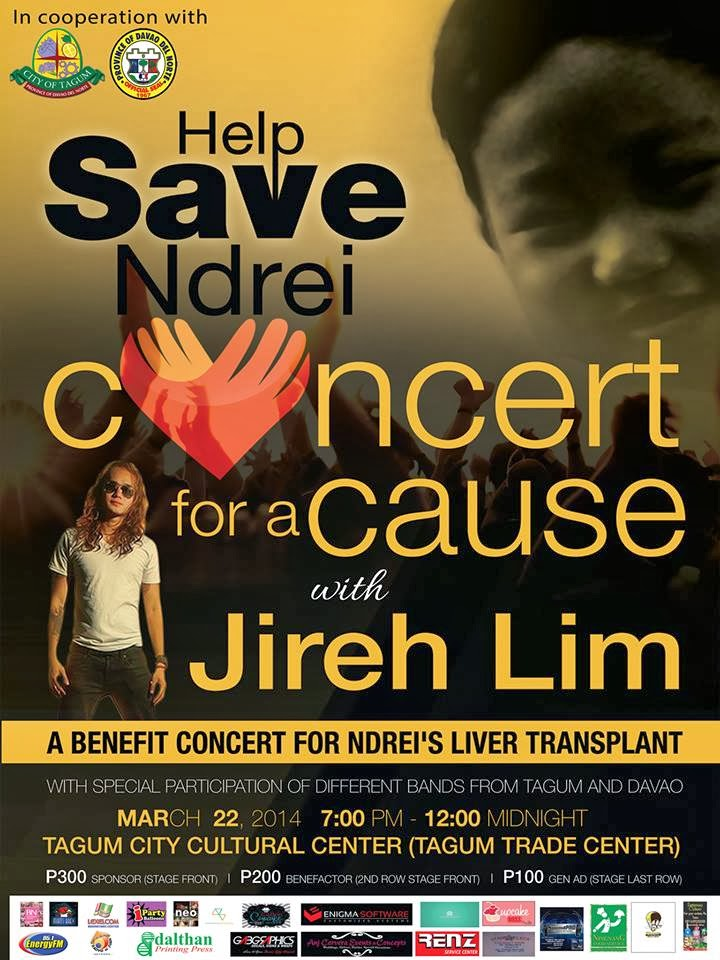 Save Ndrei Concert For A Cause