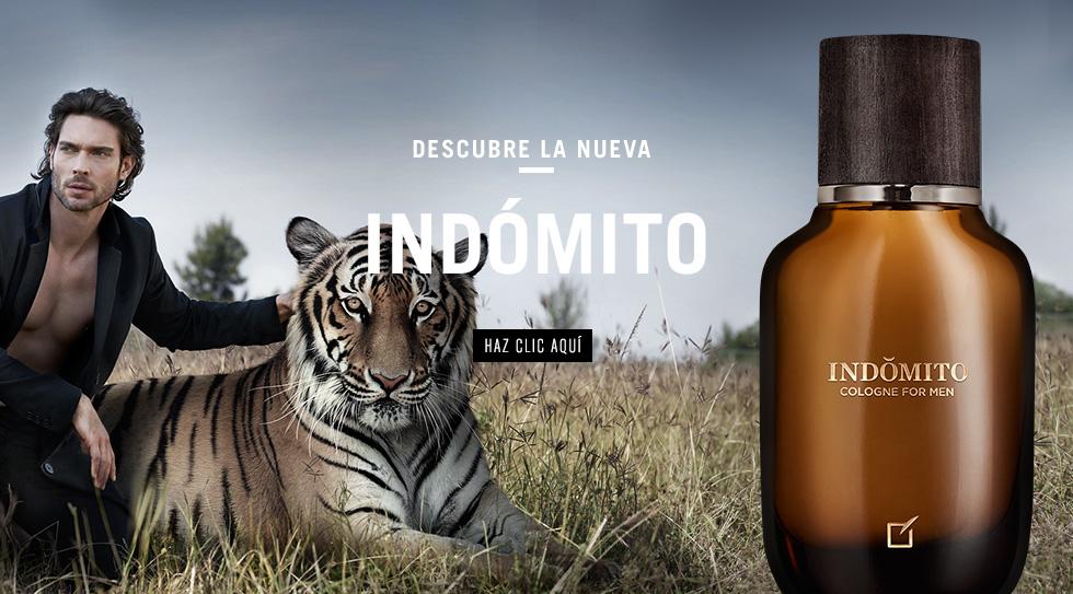 Publicidad Indómito Unique - Perfume para hombre