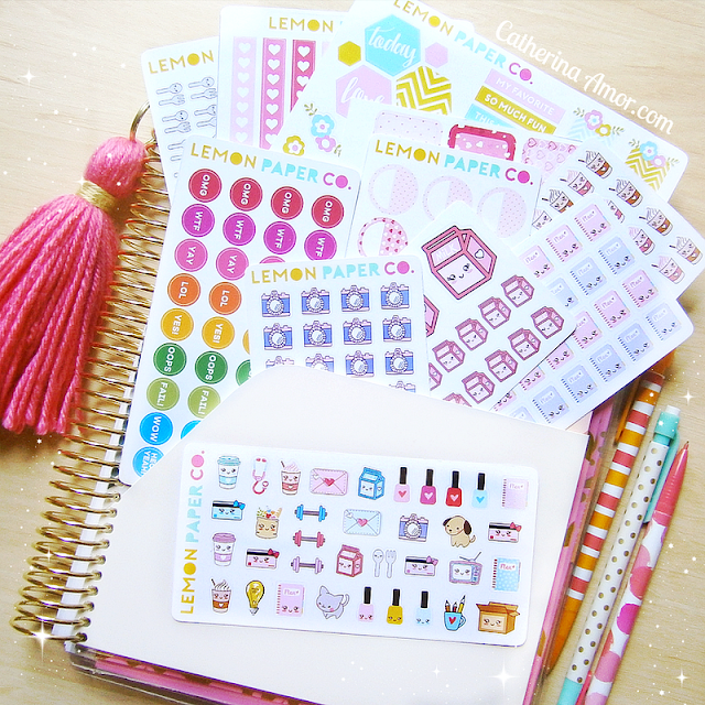 Lemon Paper Co. Planner Stickers