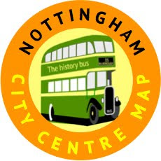 Nottingham City Centre Map