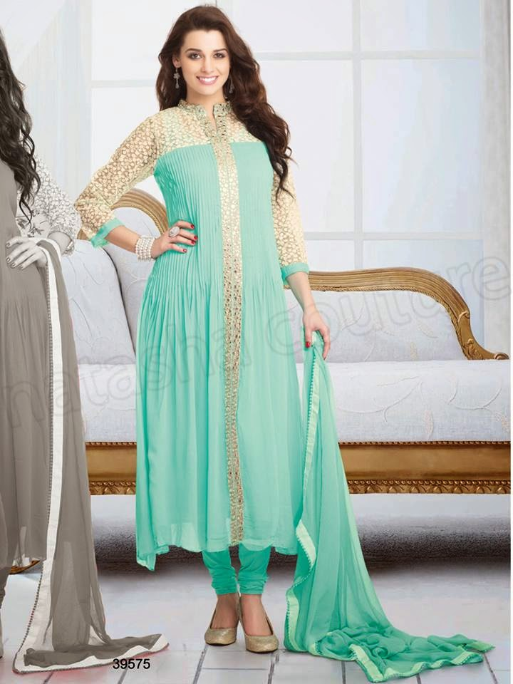 party wear latest party wear suits for indian girls 2015