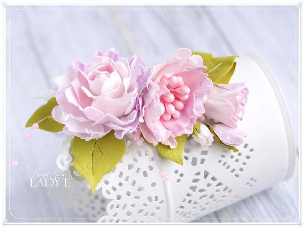 Shabby Chic Foamiran Flowers