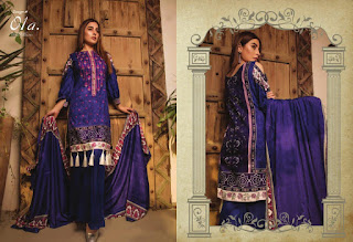 Original Pakistani Lawn Suits: Zs textile Sahil vol 3