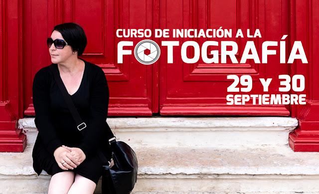 Curso de Iniciación a la Fotografía con Carlos Larios