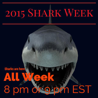 2015 Shark Week and Tv Schedule
