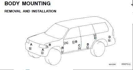 repair-manuals: Mitsubishi Monterosport 1999 Repair Manual