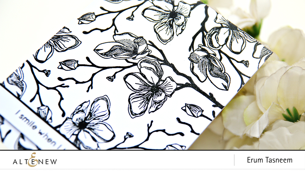 Altenew Dotted Blooms Stamp Set | Erum Tasneem | @pr0digy0