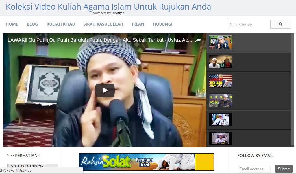 Tube Kuliah Online - Pilihan Video Kuliah Agama Untuk Anda