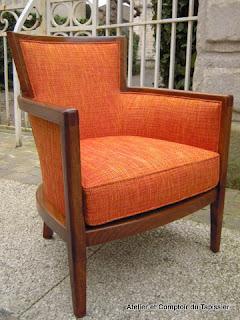 atelier et comptoir du tapissier fauteuils contemporains. Black Bedroom Furniture Sets. Home Design Ideas