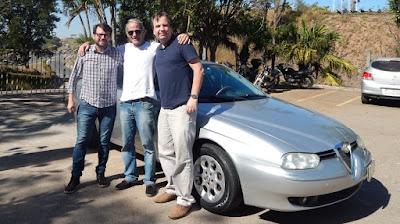 Ronaldo Borges, Arnaldo Keller e Jean Tosetto - quem?