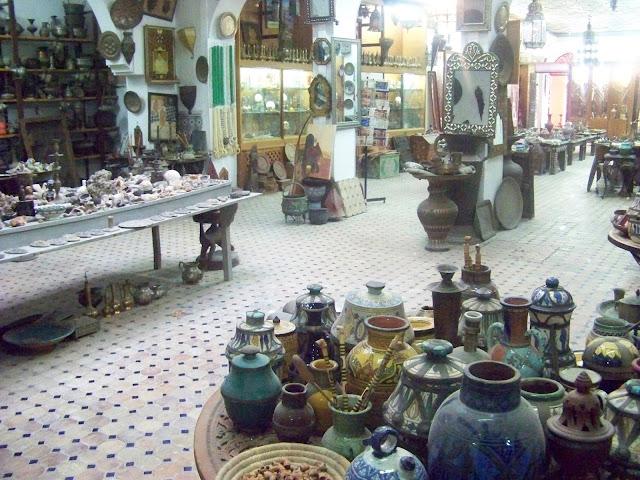 Alex Bayorti en Marruecos