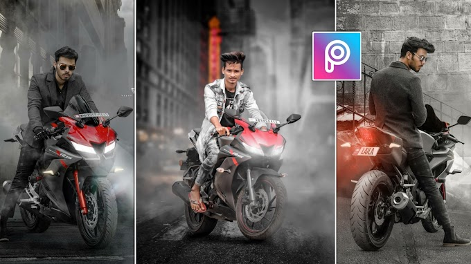 PicsArt Bike Photo Editing like Vijay Mahar 🔥|| Instagram Viral Editing || AC EDITING ZONE