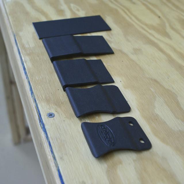 IWB Holster Belt Clip, dara holsters, dara holsters attachments, dara usa made, dara iwb holster