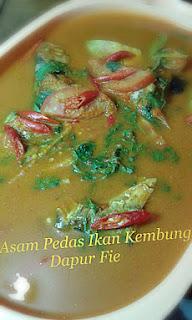 Resep Ikan Kembung Asam Pedas, cara masak ikan kembung, cara bikin masakan dari ikan kembung, ikan kembung asam pedas