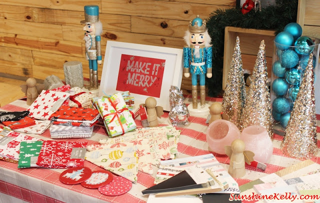 Make it Merry, Christmas decor 2015, Christmas decor, Spotlight Malaysia, spotlight, Merry and Bright, Festive Glam, Cozy Chalet, Snowy Invitation