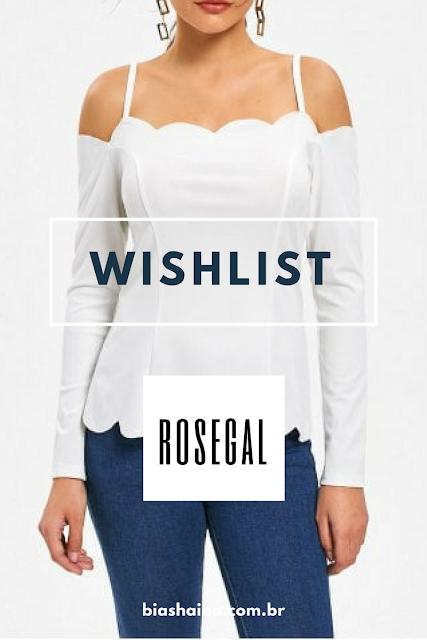 Wishlist de Dezembro da Loja Rosegal