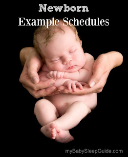 Baby sleep and eat schedule