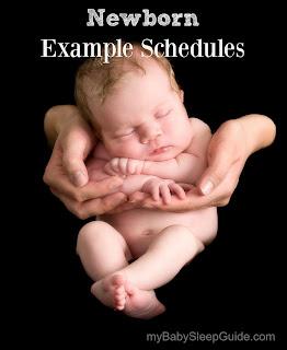 Baby sleep and eat schedule