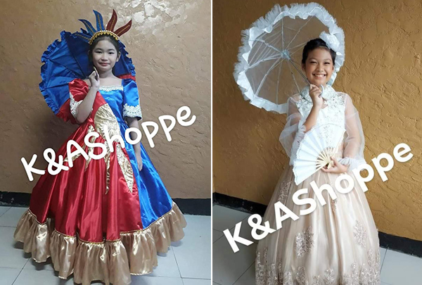 Where to Buy Buwan ng Wika Costumes for Your Kids - Pink
