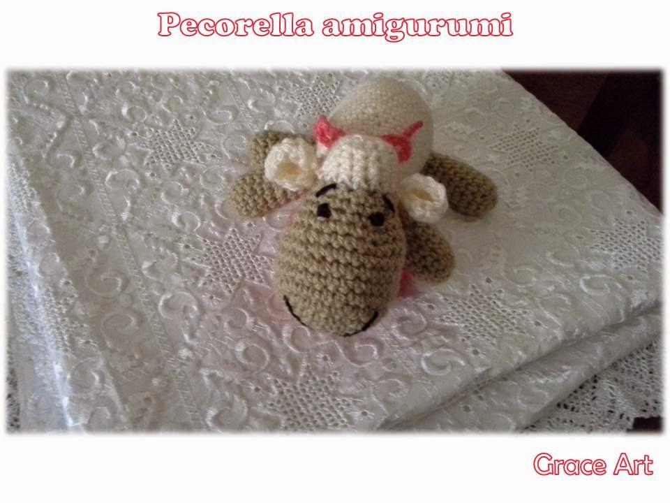 Pecora Amigurumi Tutorial - Crochet Sheep (Eng Sub) Oveja Crochet ... | 720x960