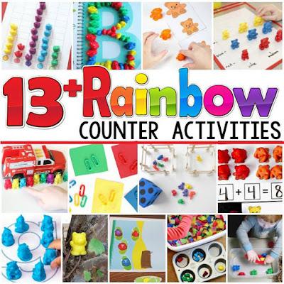 rainbow counter activities