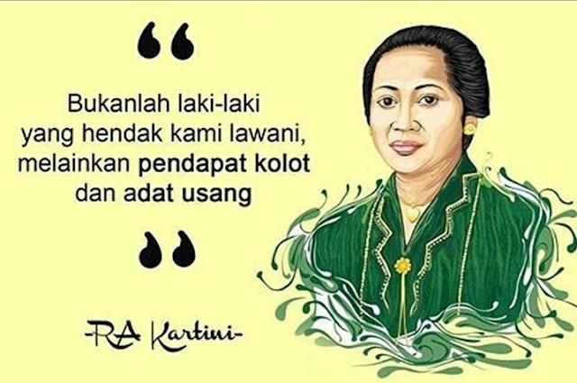Kumpulan Quotes RA Kartini terbaru dan terbaik 2018