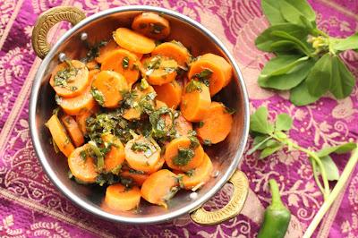 carottes au fenugrec