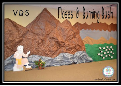 VBS With Haley: Moses & Burning Bush