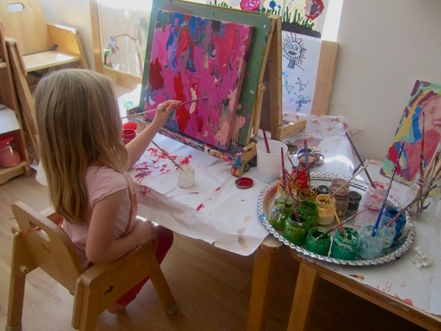 Painting On Canvas Studio Art