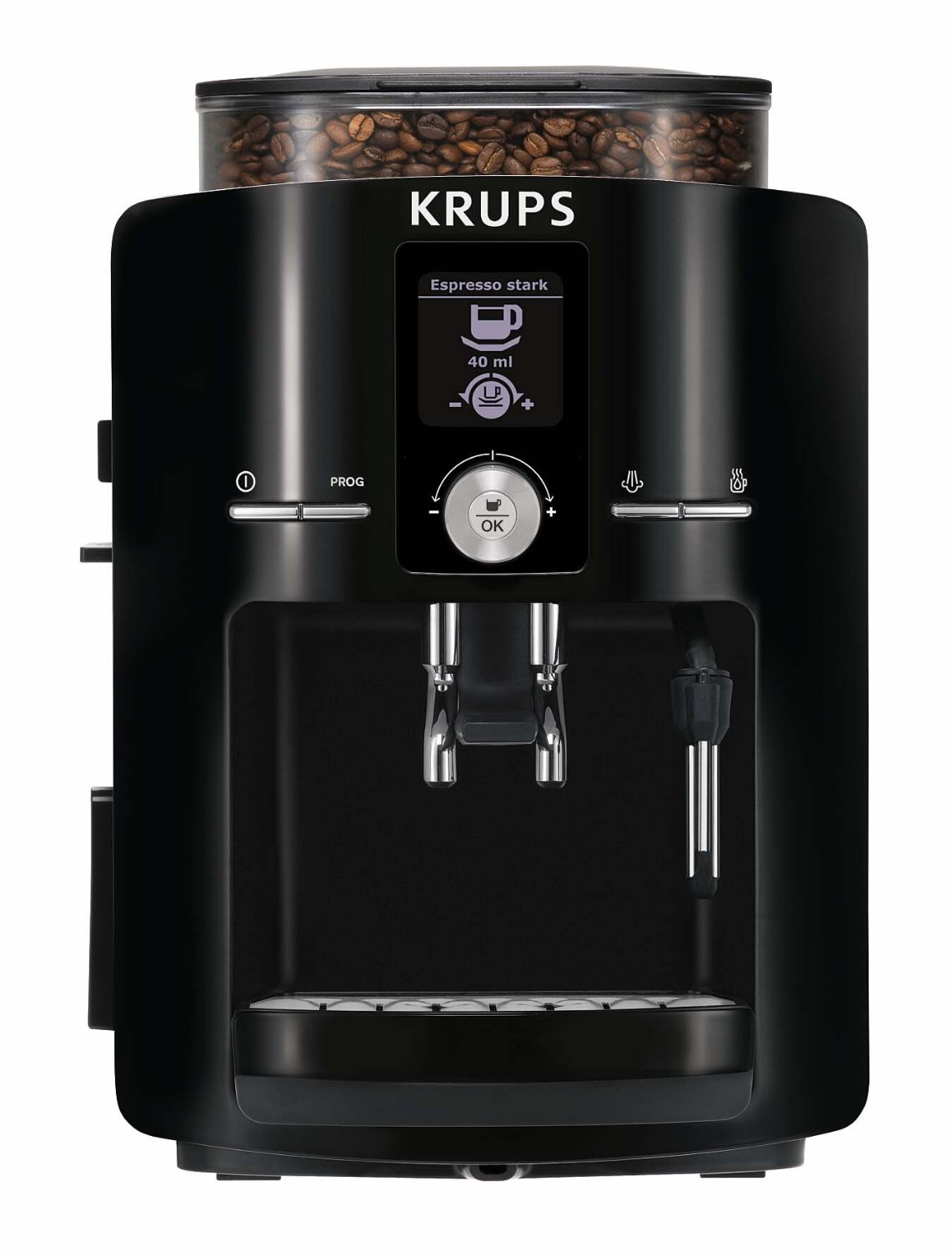 the krups espresso machine home espresso machine. Black Bedroom Furniture Sets. Home Design Ideas
