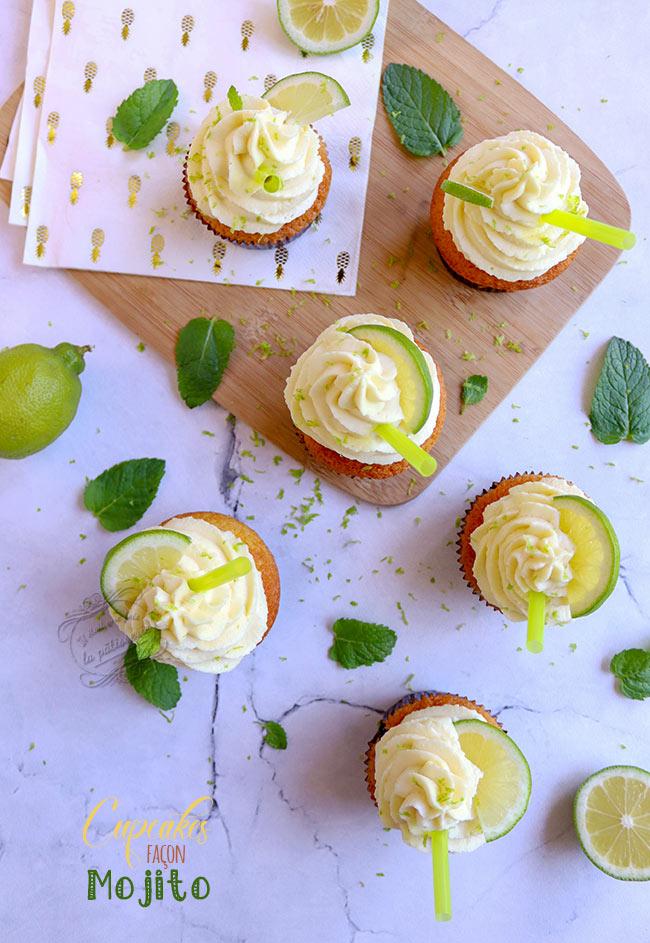 cupcake mojito facile