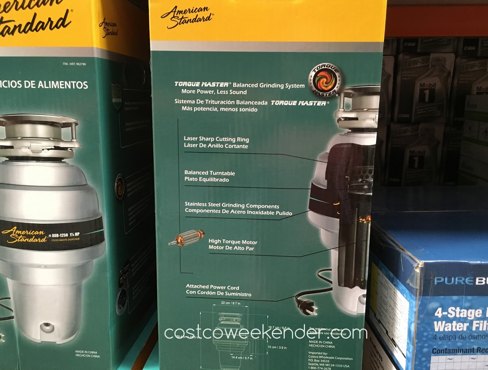 American Standard Asd 1250 Food Waste Disposer Costco