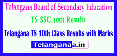 TS SSC 10th Class Result  with Marks Download