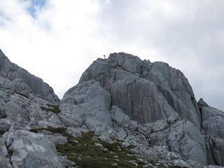 Gipfelaufbau des Totenkirchls