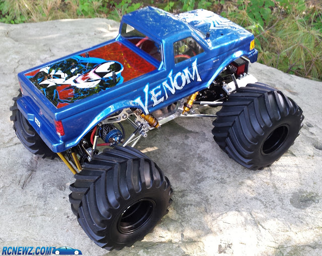 Venom RC Truck Body paint