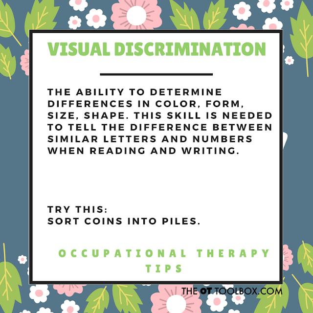 Visual discrimination activity