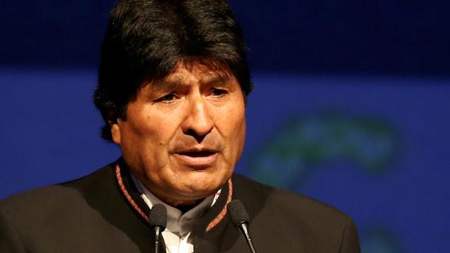 """Evo Morales: """"El atentado contra Maduro es un delito de lesa humanidad"""""""