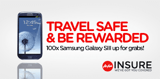 travelsafe - CONTEST - [ENDED] 100 Samsung Galaxy S3 to be given out!