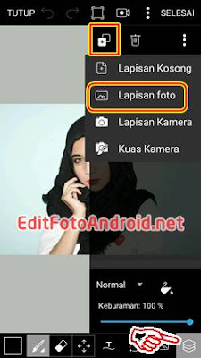Cara Edit Background Foto di PicsArt 2