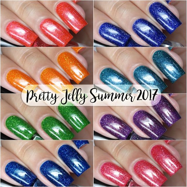 Pretty Jelly Nail Polish - Summer 2017 Collection