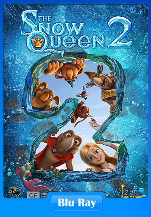 The Snow Queen 2 2014 720p BluRay ESubs Dual Audio Hindi English x264 | 480p 300MB | 100MB HEVC