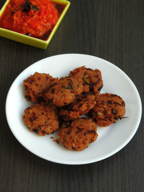 Instant Aval Vada, Instant Rice Flakes Vada